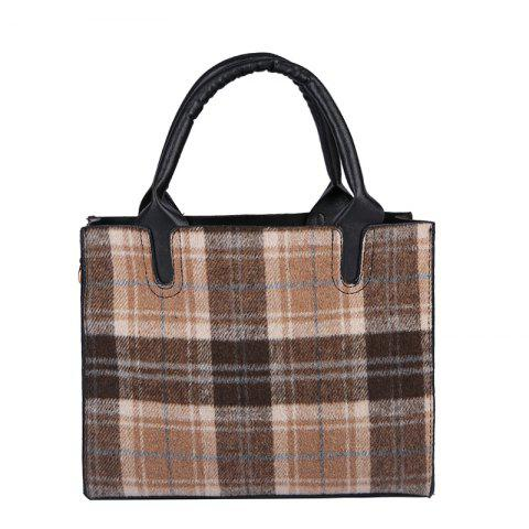Hot Woolen Bag Handbag Large Bag Shoulder Messenger Bag