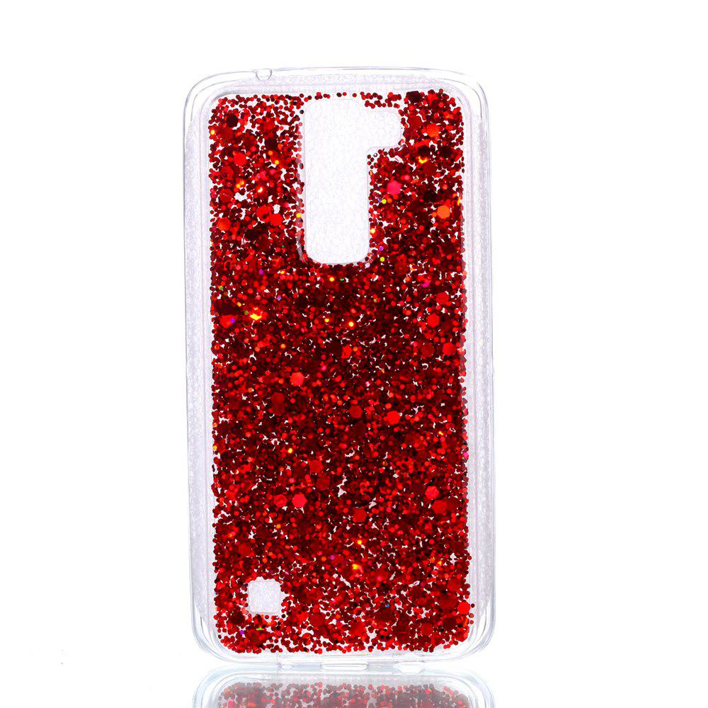 Outfit Case For LG  K8  Luxury Flash Soft TPU Mobile Phone Case