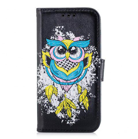 Shop Case For Xiaomi RedMi 4X Flash Powder Owl PU Phone Protection Sleeve.