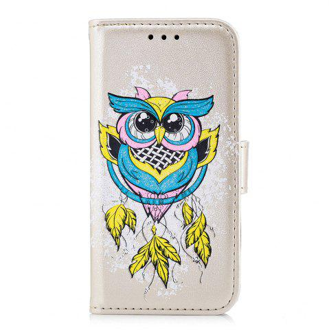 Best Case For Xiaomi RedMi 4X Flash Powder Owl PU Phone Protection Sleeve.