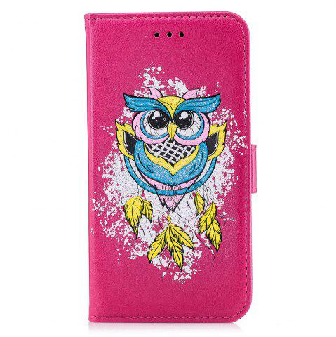 Outfit Case For Xiaomi RedMi NOTE4X Flash Powder Owl PU Phone Protection Sleeve