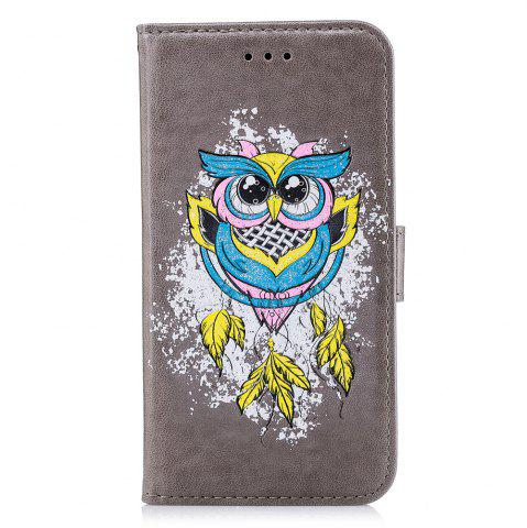 Shops Case For Xiaomi RedMi NOTE4X Flash Powder Owl PU Phone Protection Sleeve