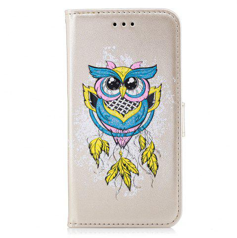New Case For Xiaomi RedMi NOTE4X Flash Powder Owl PU Phone Protection Sleeve