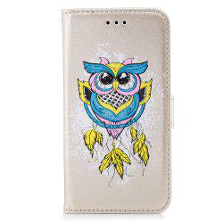 Case For Xiaomi RedMi NOTE4X Flash Powder Owl PU Phone Protection Sleeve -