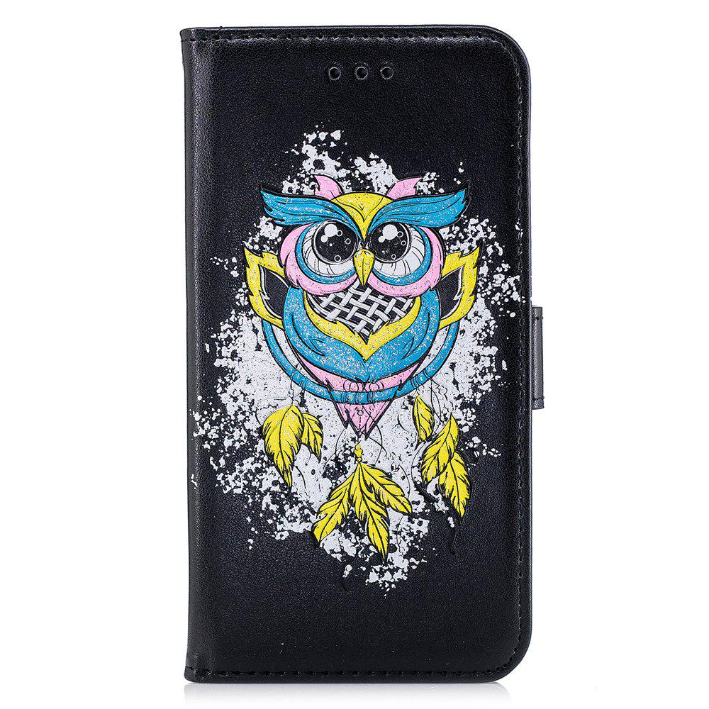 Unique Case For Xiaomi RedMi NOTE4X Flash Powder Owl PU Phone Protection Sleeve