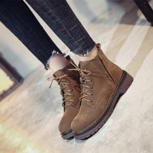 New Winter Women Fashion Lightweight Martin Boots -