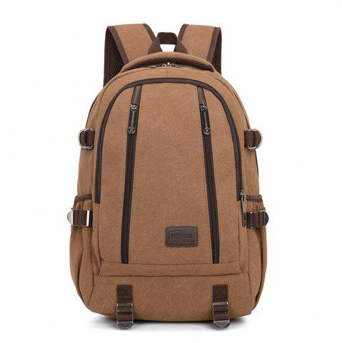 Sale Simple Fashion Canvas Men's Shoulder Knapsack