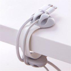 Bobbin Winder Data Cable Storage Line Fixing Device Clamp -