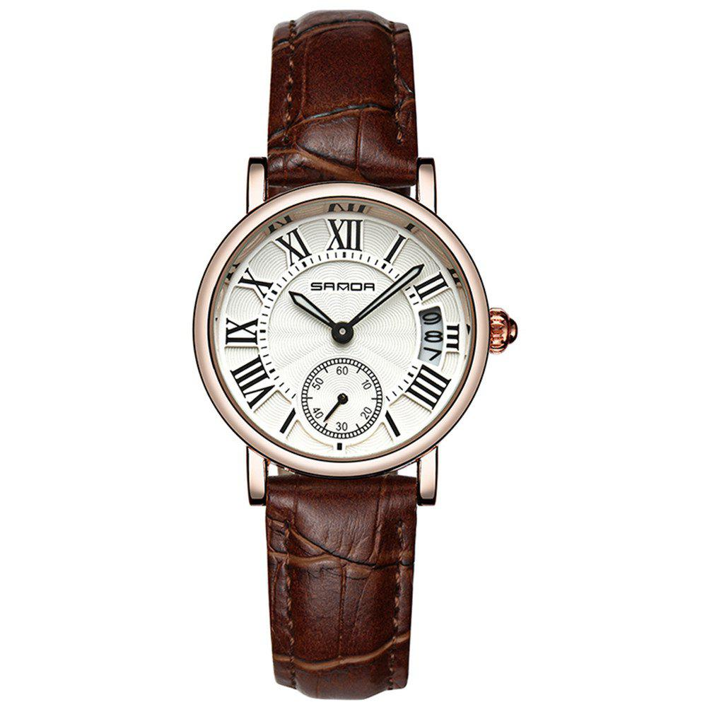 Sale Sanda 206 1305 Casual Fashion Belt Ladies Waterproof Quartz Watch