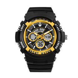 Sanda 138 1307 Fashionable Leisure Outdoor Sports Trend Multifunctional Waterproof Man Watch -