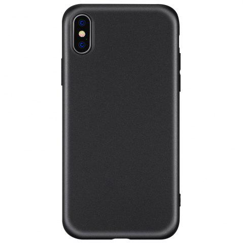 Outfits Anti-fingerprint Matte TPU Phone Case for iPhone X