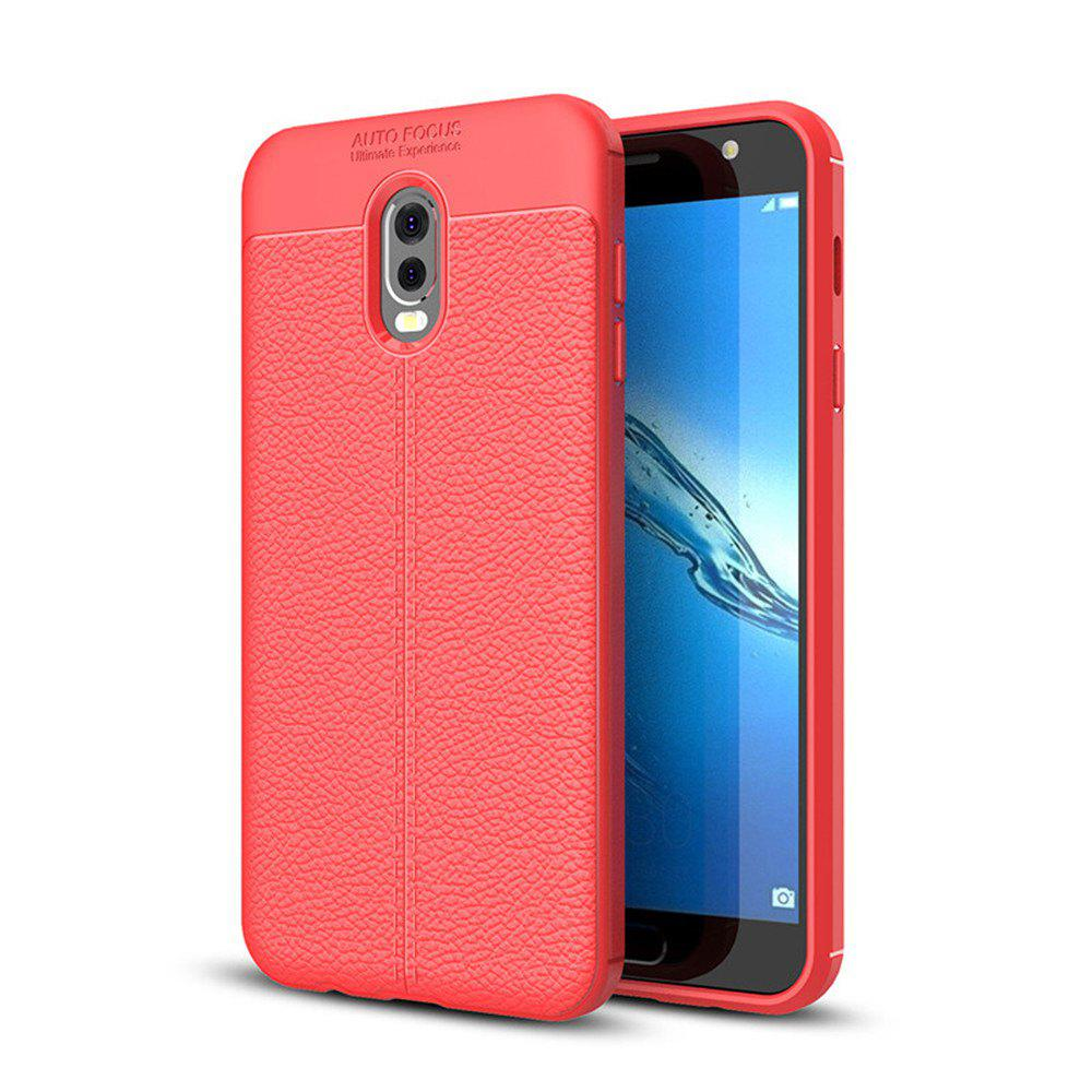 huge discount c11d6 898a0 Case for Samsung Galaxy J7 Plus Shockproof Back Cover Solid Color Soft TPU