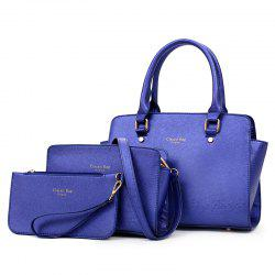 Three-piece Simple Fashion Shoulder Messenger Bag Handbag -
