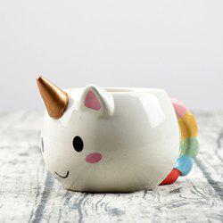 3D Cartoon Unicorn Mug Ceramic Christmas Coffee Cup -