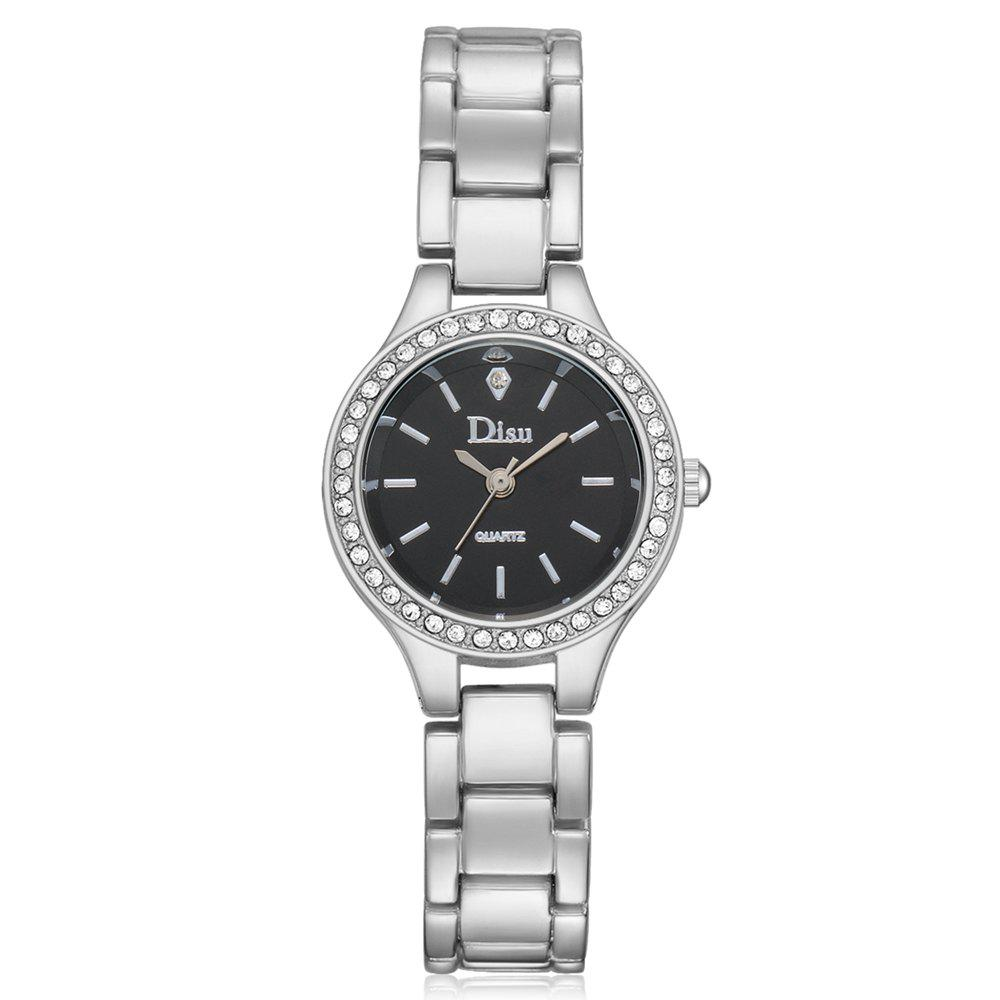 DS053 Women Minimalist Alloy Bracelet Watch with
