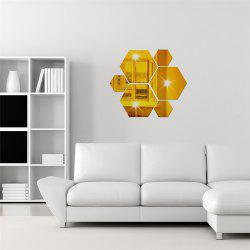 Hexagonal Combined Home Decoration Wall Stickers -