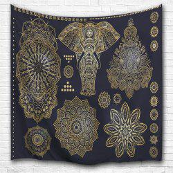 3D Digital Printing Home Wall Hanging Nature Art Fabric Tapestry for Bedroom Decorations -