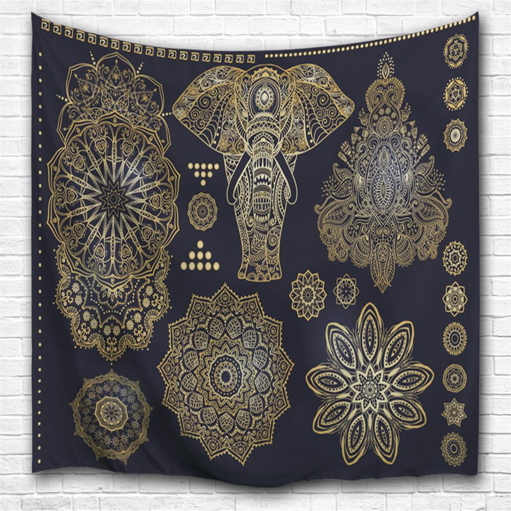 Unique 3D Digital Printing Home Wall Hanging Nature Art Fabric Tapestry for Bedroom Decorations