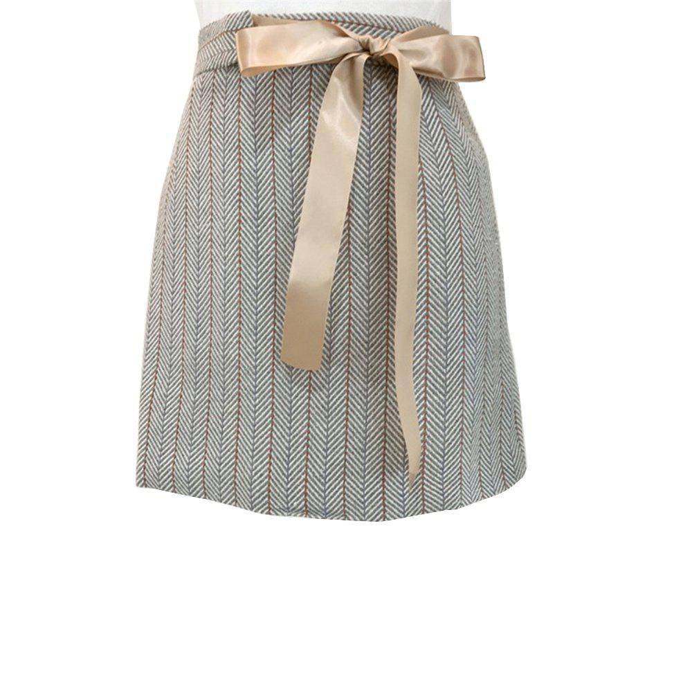 Tweed Sweet Tied Bow Юбка
