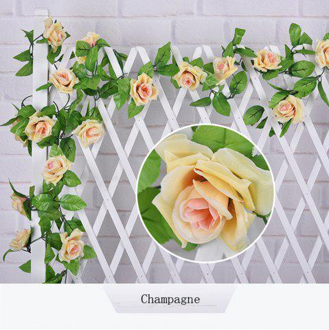 Hot 1Pc Artificial flower Cane European Style Wedding Party Home Decoration