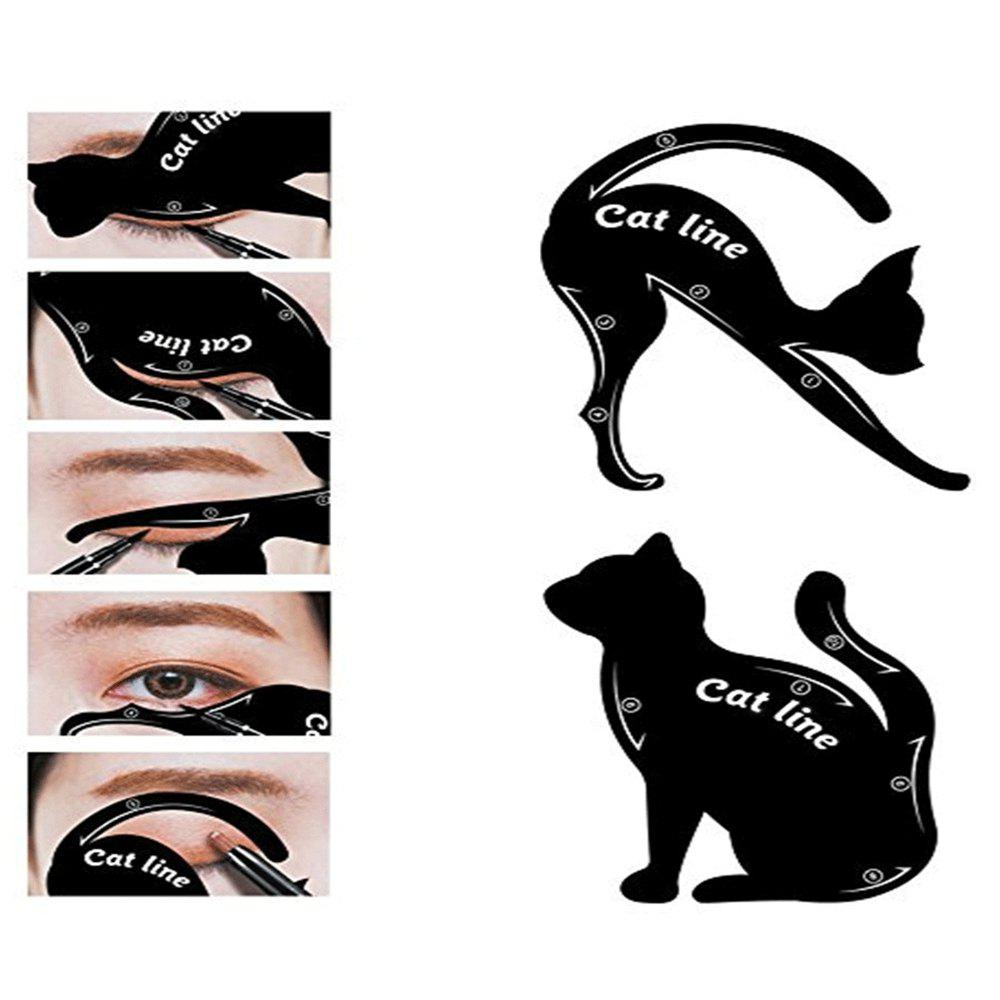 Outfits Eyeliner Stencil Set Eye Makeup Template Multifunction Tools