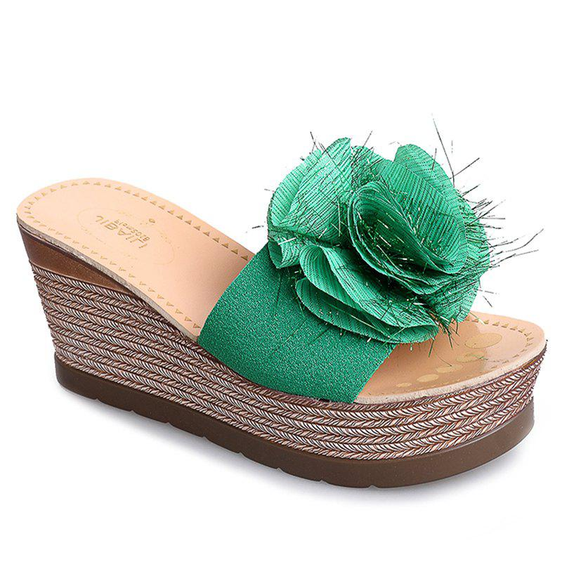 Chic Cool Flowers Fashion Slippers