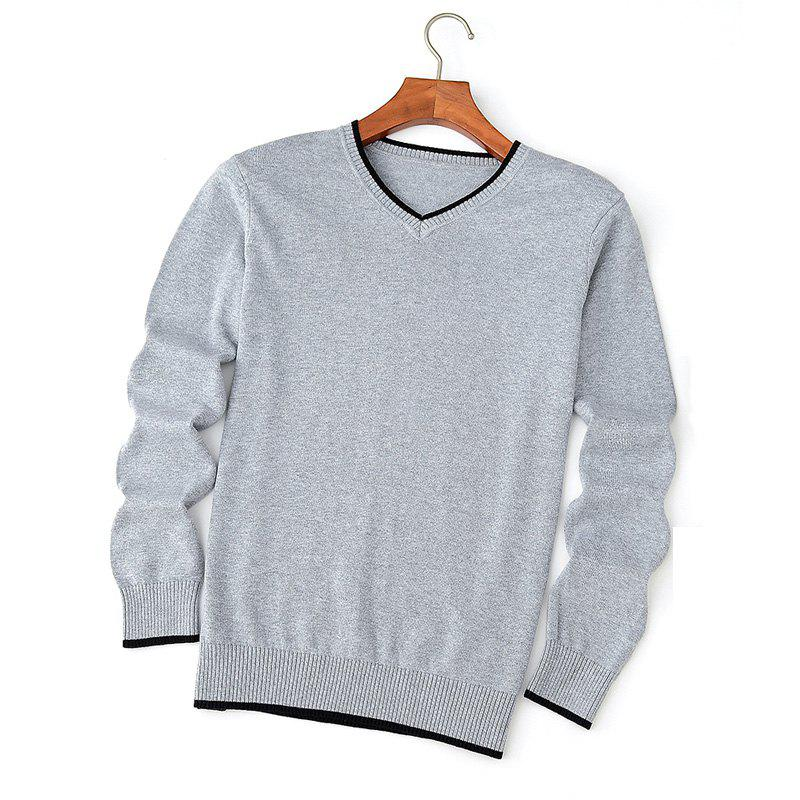 Shops Men's Fashion V Collar Sweater