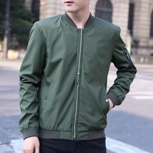 Men's Casual Jacket Zipper All Match Outdoor Jacket -