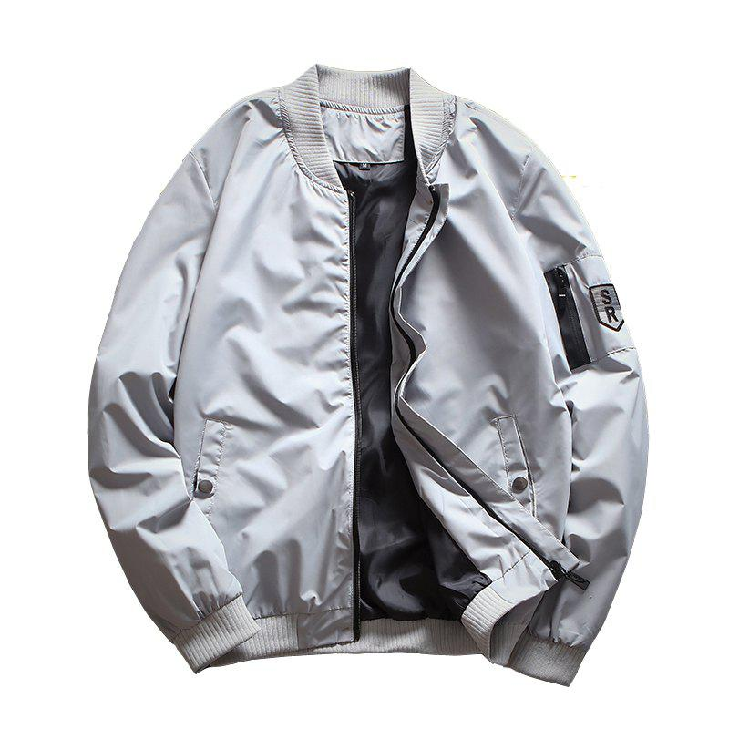 Affordable Men's Casual Jacket Zipper All Match Outdoor Jacket