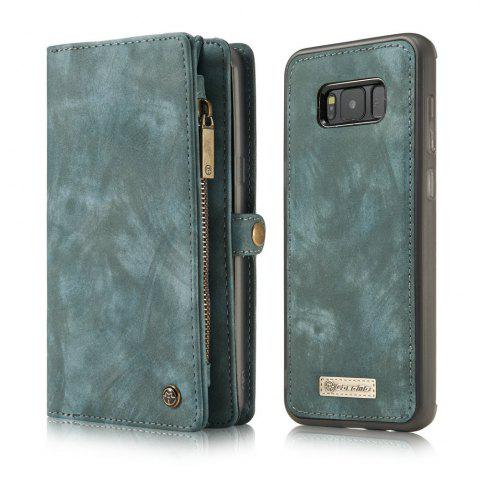 Outfit CaseMe for Samsung Galaxy S8 Case Flip Kickstand Feature PU Leather Wallet with ID and Credit Card Pockets