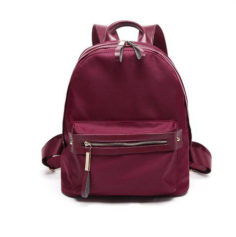 Fancy Woman's New Style Backpack Female Nylon Fashion Backpack Bag