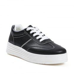 Small Thick Floor Students Casual Shoes -