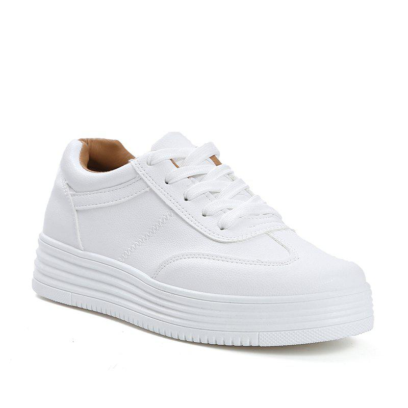 Sale Small Thick Floor Students Casual Shoes