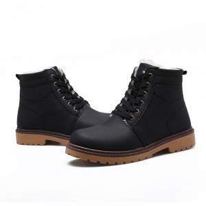 Warm Suede Leather Men Boots -