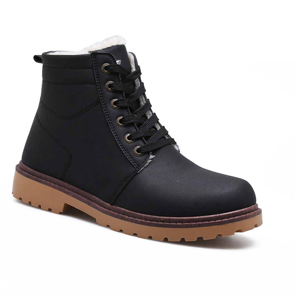 Shop Warm Suede Leather Men Boots