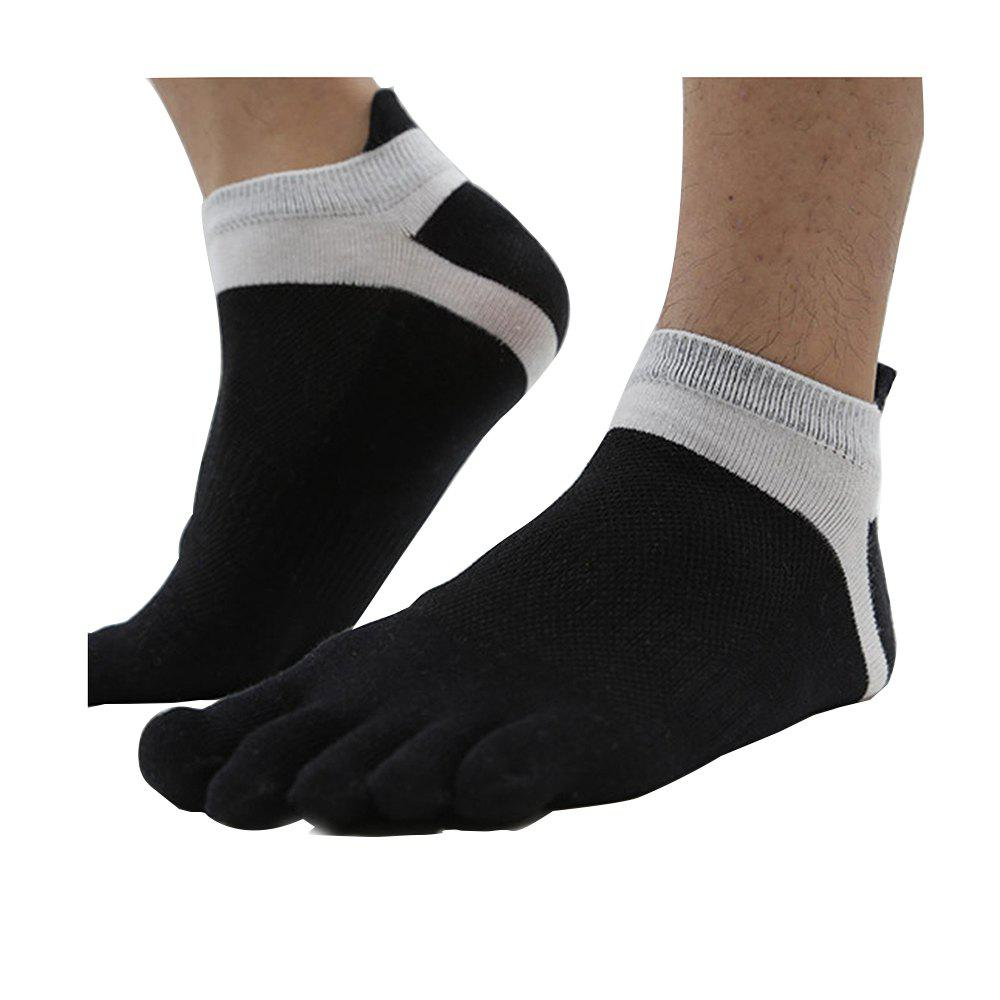 Shops Men'S Cotton Four Seasons Thin Socks Short Tube Movement Toe Socks Mesh Breathable Cotton Five Finger Socks