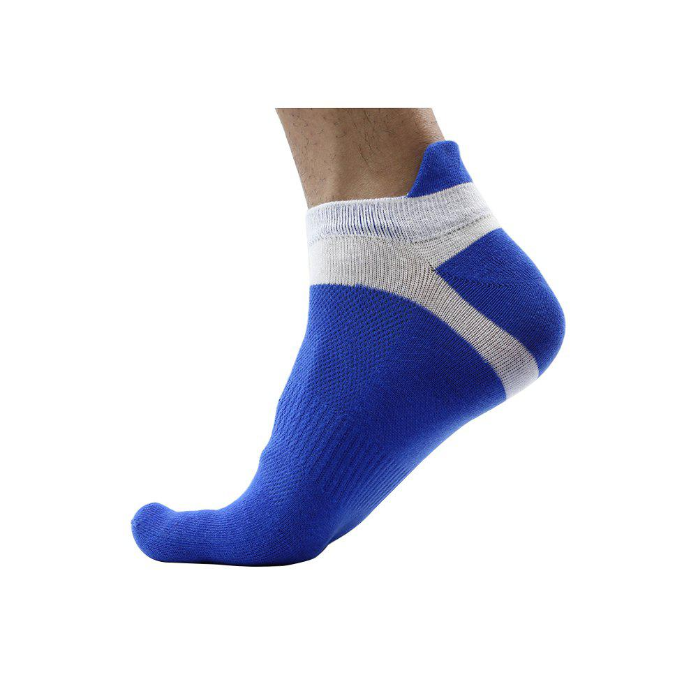 Outfit Men'S Cotton Four Seasons Thin Socks Short Tube Movement Toe Socks Mesh Breathable Cotton Five Finger Socks