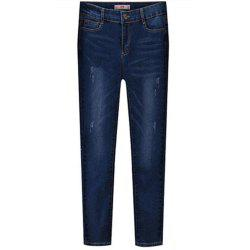 Plus Size Women's Cotton Jeans -