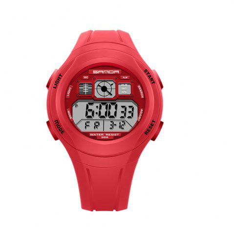 Latest Sanda 331 1278 Leisure Fashionable Outdoor Sports Multi Function Display Waterproof Electronic Watch