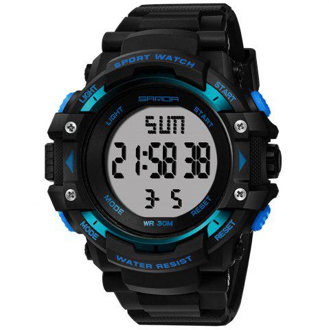 Buy Sanda 348 1294 Outdoor Fashion Trend Date Calendar Shows Multi-Purpose Waterproof Electronic Watch