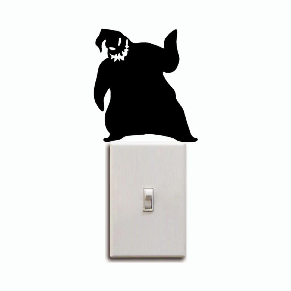 2018 Kg-251 Oogie Boogie Switch Sticker Nightmare Before Christmas ...