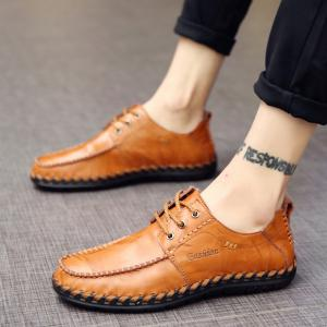 Men Leisure Casual Business Peas Shoes Loafers Fashion Outdoor Sport Breathable Sneakers -