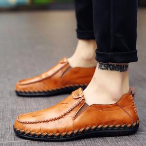 Men Leisure Casual Business Peas Shoes Loafers Fashion Outdoor Spring Sport Breathable Sneakers -