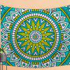 The Most Famous Folk Wind Tapestry Wall Decoration Beach Sofa Blanket Bedspread -