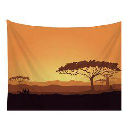 Cartoon Natural Scenery Tapestry Wall Hanging Decorated with Sofa Bedroom Blanket Tablecloth -
