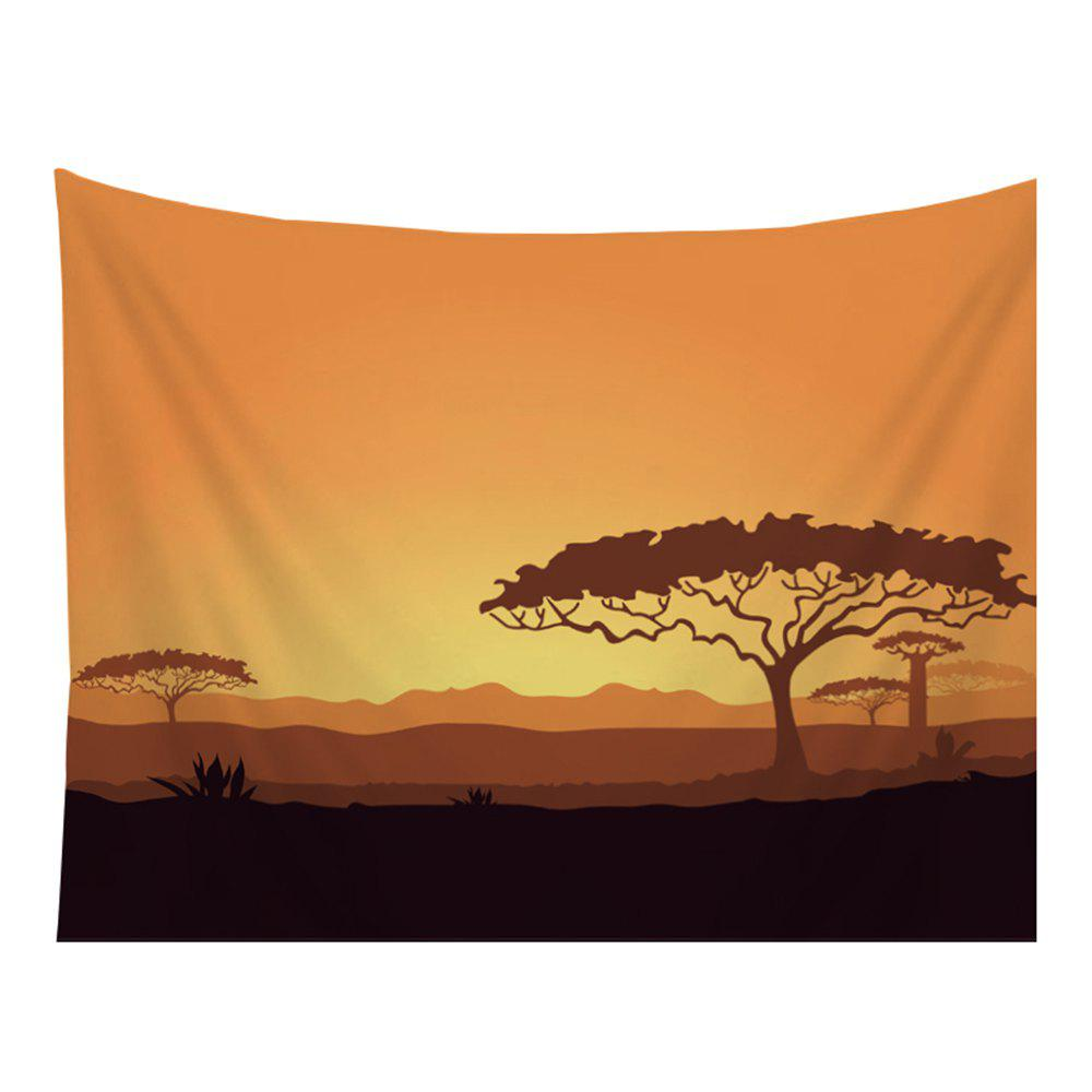 Latest Cartoon Natural Scenery Tapestry Wall Hanging Decorated with Sofa Bedroom Blanket Tablecloth