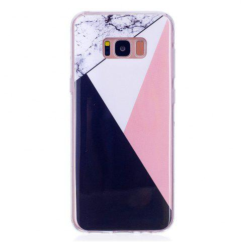 Outfits Marbling Phone Case For Samsung Galaxy S8 Case Trend Fashion Soft Silicone TPU Cover Cases Protection Phone Bag
