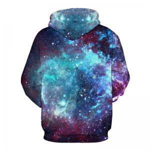 Men 3D Space Galaxy Hoodie -