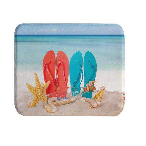 Affordable Couple beach shoes Bath Mat Rug Super Soft Non-Slip Machine Washable Quickly Drying Antibacterial For Kitchen