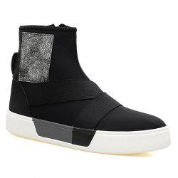 Chaussures en cuir Super Fiber Leather Men 's -